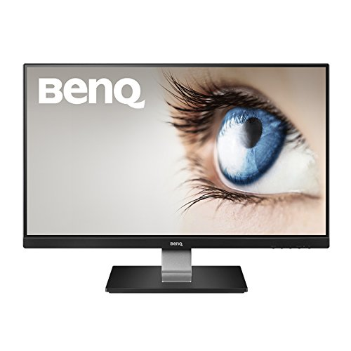 BenQ GW2406Z 60,45 cm (23,8 Zoll) Monitor (1920 X 1080 Pixel Full HD, HDMI, DP 1.2, 5ms Reaktionszeit, IPS Panel Technologie, VESA) schwarz