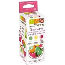 Kit de colorantes alimentarios rojo / verde / amarillo