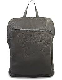 IO.IO.MIO ital. Damentasche 2in1 Rucksack Cross Body Bag freie Farbwahl , 29x32,5x11 cm (B x H x T)