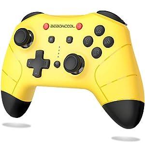 Controller für Nintendo Switch, BEBONCOOL Switch Controller 18 Std Spieldauer Dual Motors Vibration Switch Pro…