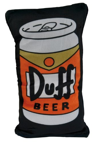 Simpsons Duff Bier (United Labels 0118228 AG - Wende-Kissen The Simpsons Duff Bier)