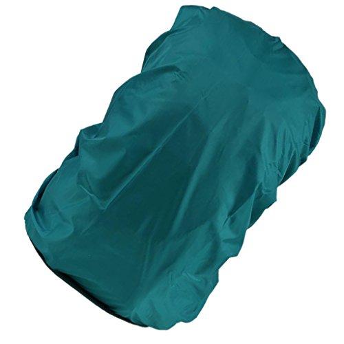 Protección de mochila, funda impermeable para camping, correr, senderismo, polvo, antilluvia, caza, pesca, turquesa