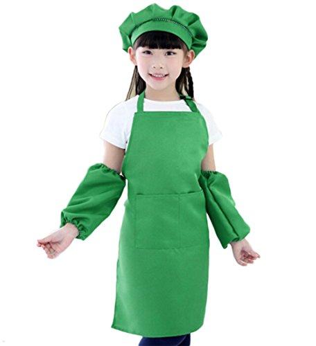 Nikgic 1Set Ajustable Niños Cuello Cocinar Delantal