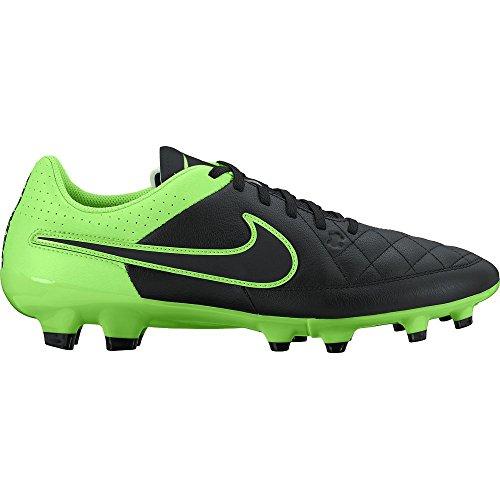 Nike - Tiempo Genio Leather Fg, Scarpe da calcio Uomo - noir, vert