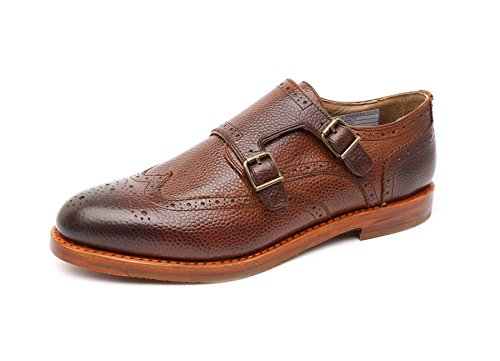 Gordon & Bros S160477 Herren Businessschuhe Dk. Brown