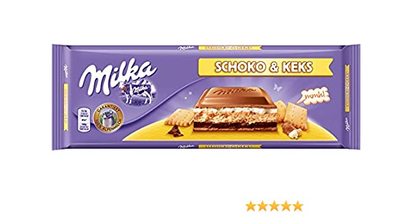 Milka Chocolate Biscuit 4 X 300 G
