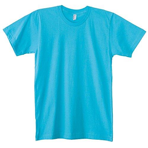 American Apparel Unisex Baumwoll-T-Shirt, Kurzarm Marineblau