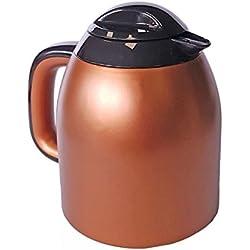 Thermoskanne Isolierkanne Kupfer 950 ml - Kaffeekanne, Teekanne
