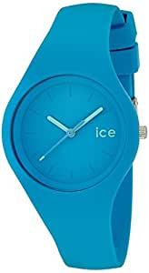 Ice-Watch - ICE ola Neon blue - Montre bleue pour femme avec bracelet en silicone - 000994 (Small)