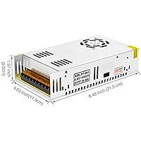 BTF-LIGHTING DC5V 60A 300W Aluminium Netzteil für WS2812B APA102 LED8806 WS2801 SK6813 LED-Streifenmodule Licht