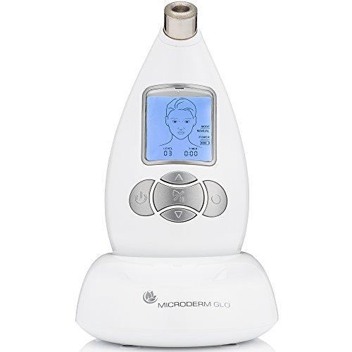 Microderm GLO sistema de microdermoabrasión diamante Avanzada Inicio Máquina facial dermoabrasión anti-envejecimiento cuidado de la piel removedor de la espinilla y pelar Soluti cuidado de la piel