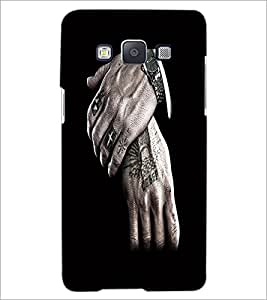 PrintDhaba Hands D-2193 Back Case Cover for SAMSUNG GALAXY A5 (Multi-Coloured)