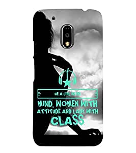 ifasho Designer Back Case Cover for Motorola Moto G4 :: Moto G (4th Gen) (Analogy Continuing Education)