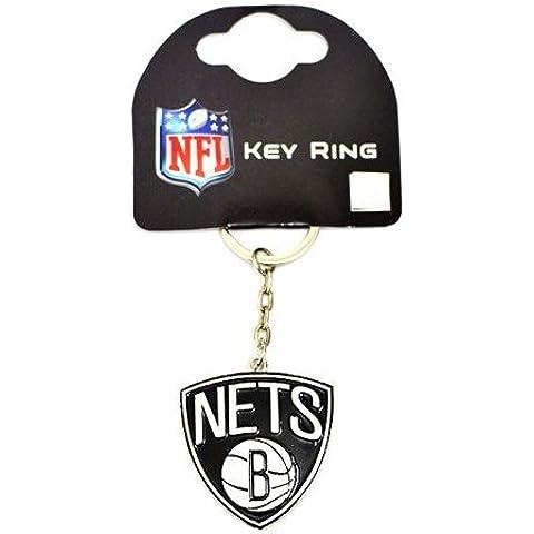 Brooklyn Nets NBA basket portachiavi portachiavi Key Ring
