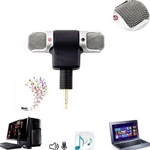 Cewaal-Microfono-professionale-del-registratore-Mini-microfono-portatile-stereo-di-voce-stereo-per-smartphone-PC