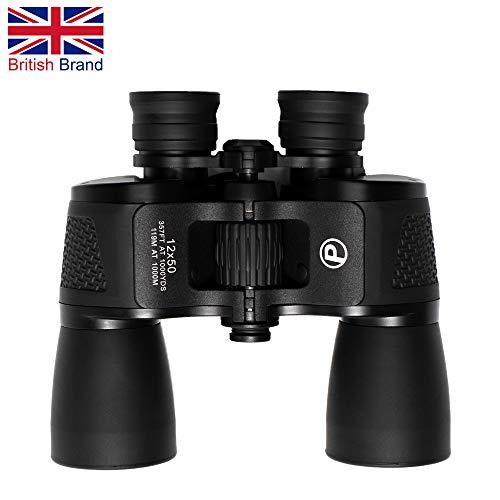 Observer12 Prime Optixs Fernglas (12 x 50 cm), wasserfest, leicht, leistungsstark, britische Marke