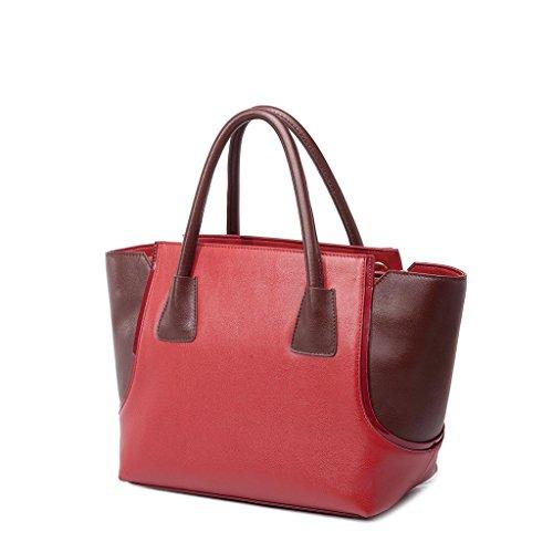 Romantic LOVEMATCH da donna, borsetta con manico, misura media Rosso (rosso)