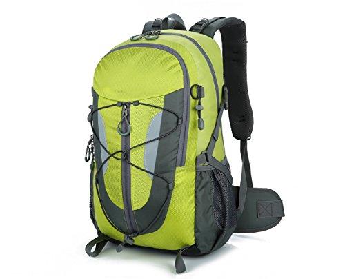 Lily S Locker–�?0L zaino da donna e da uomo Outdoor tasche con più spazio per l' escursione del campeggio Alpinismo viaggio scuola 29x50x18cm, Blau verde