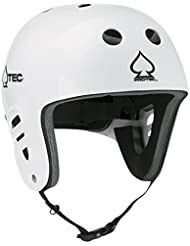 Pro-Tec Helm The Fullcut Water - Casco de wakeboarding, color gloss white, talla S