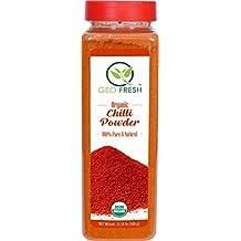 Geo-Fresh Organic Chilli Powder USDA Certified, (GF-OCHP-400g)