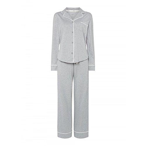 Dkny-pyjama (DKNY New Signature Long PJ Set in Grey Heather OR Navy Pinstripe (2719259))