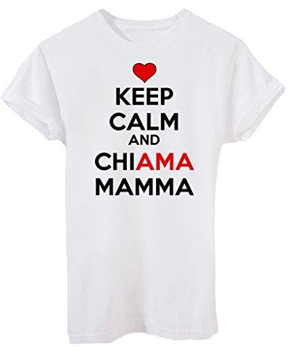 T-Shirt FESTA DELLA MAMMA KEEP CALM CHIAMA MAMMA - EVENTI - by iMage Bianca