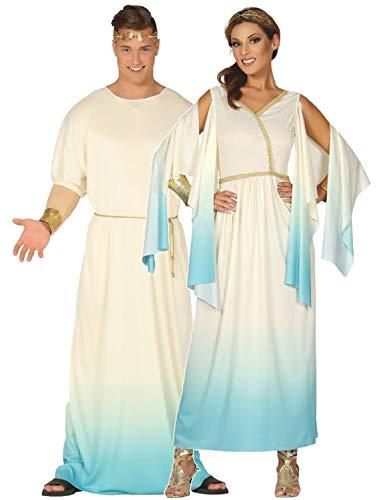 Fancy Me Kostüm, für Paare, Damen, Herren, griechisch, griechisch, Toga, historisch, international