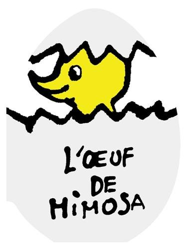 L'oeuf de Mimosa