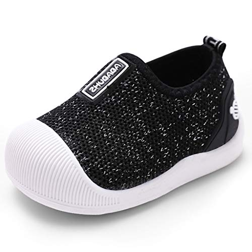 Beikoard Baby Schuhe Brief Mesh Socken Sport Run Sneakers Freizeitschuhe Jungen und Mädchen Winter Komfort Casual Schuhe -