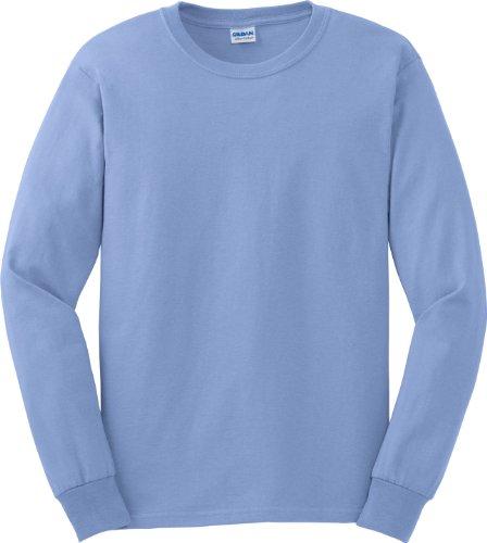 Gildan 6oz ultra Cottontm lunga da uomo Blu - Carolina Blu