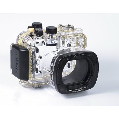 Kaavie - Custodia Subacquea per fotocamera Canon PowerShot G16 per la fotografia subacquea