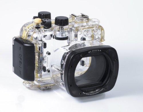 CameraPlus - Unterwasser digitalkamera - Unterwassergehäuse für PowerShot G16 bis 40m Wasserdicht leicht bedienbar ersetzen Canon WP-DC52
