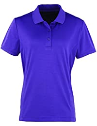 "Premier Womens Coolchecker""¢ pique polo"