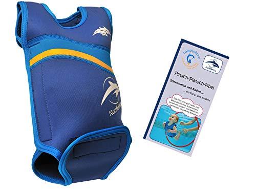 dence Babywarma, Schwimm-Anzug mit Plitsch-Platsch-Fibel, Nautisch/Blau, 6-12 Monate ()