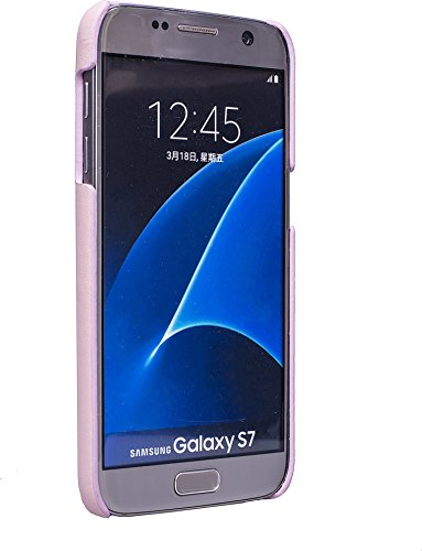 JT Berlin LederCover Style für Samsung Galaxy S7 in cognac [Echtleder | Handarbeit | Kartenfächer | Passgenau] - 10062 LederCover Style - rose