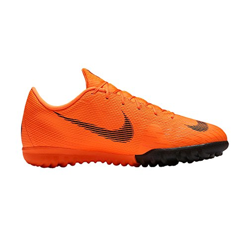 NIKE Unisex-Kinder Jr Vaporx 12 Academy Gs Tf Fitnessschuhe, Mehrfarbig (Total Orange/Black-T 810), 37.5 EU