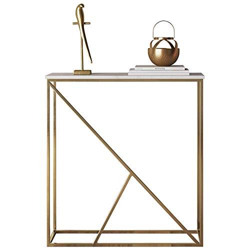 Eisen-veranda (Klapptisch YANFEI, Marmor Veranda Tisch, Moderne Veranda Tisch Lange Veranda Tisch, weiß)