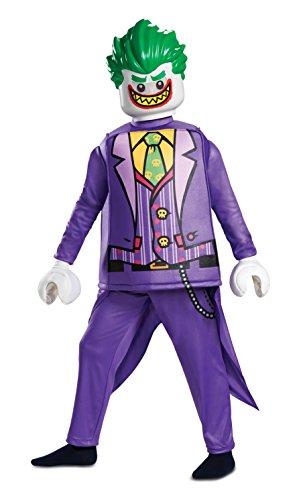 Jakks 66313K Joker Deluxe M (7-8 J.), lila, 127-136cm (Der Joker Batman Kostüme)