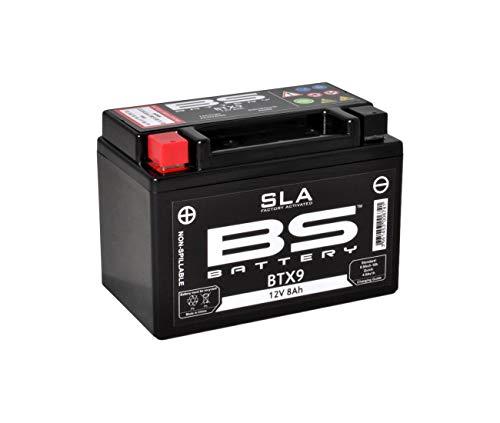Honda 500cb-vt 600shadow-nx 650dominator-600cbr-cbr 900rr-650NTV deauville-batterie BS SLA btx9–321069