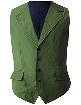 Manfis - Camisa casual - Manga Larga - para hombre
