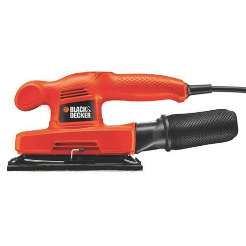 Black + Decker KA310 240V 240W 1/3rd Sheet Compact Sander by BLACK+DECKER