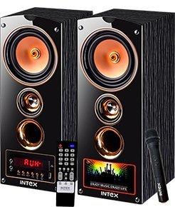 Intex IT-7500 SUFB 2.0 Channel Multimedia Speakers (Black)