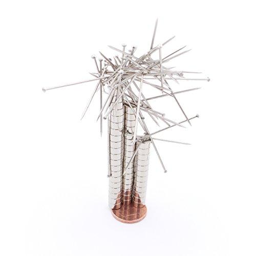 Brudazon - 50 mini magneti dischi da 6x3mm | magneti in neodimio ultra potenti - grado magnetico n52 | magneti per modellismo, foto, lavagne magnetiche | piccoli ed extra potenti