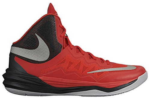 Nike Prime Hype DF II, Scarpe da Basket Uomo Red/Black
