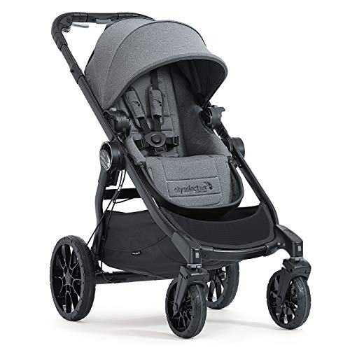 Baby Jogger BJ0186482101 Buggy City Select Lux - Ash - System 3 Modulare De-filter