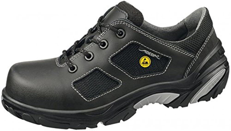 Abeba 34711-45 Crawler zapatillas de seguridad baja ESD tamaño, 45, color negro