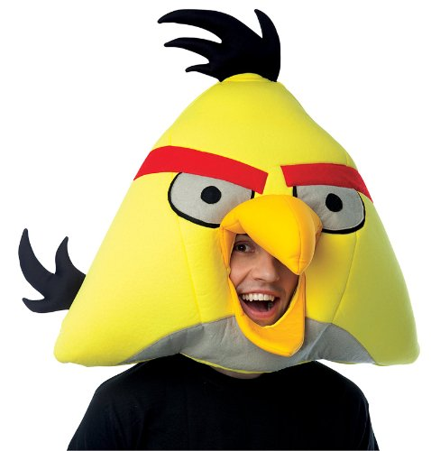 ird Over The Head Foam Costume Mask (Angry Bird Adult Kostüme)