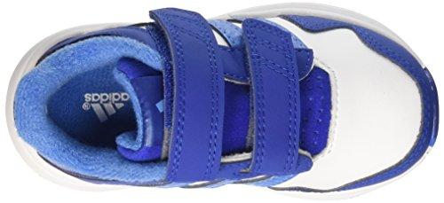 adidas Snice 4 CF I Baby Jungen Lauflernschuhe Multicolor (Ftwwht/Supblu/Croyal)