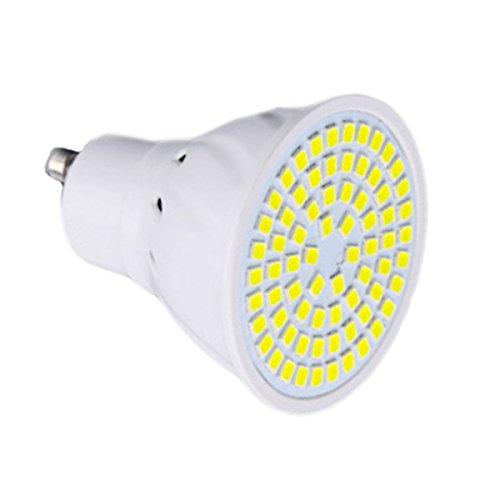 JIALUN-LED GU10 72LED 7W 2835SMD 600-700Lm Blanco cálido Blanco frío LED proyector...