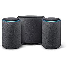 Echo Sub Combo with 2 Echo Plus (2nd Gen) Devices - Black